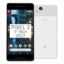 Google Pixel 2 - 64 GB - Clearly White - Unlocked - CDMA/GSM