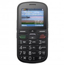 Alcatel A382G The Big Easy - Black - TracFone - GSM