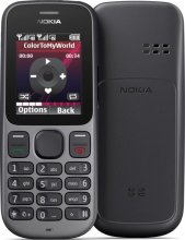 Nokia 101 Gsm Un-locked Dual SIM FM Radio Flash Light (Black)