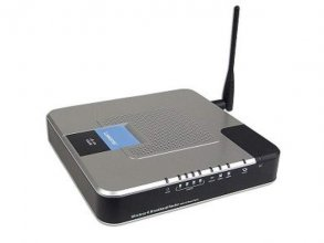 Linksys WRTU54G-TM Wireless Router - 54 Mbps - 802.11b/g - VoIP