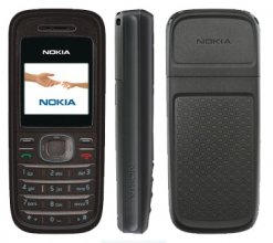 Nokia 1208 GSM Un-locked BLACK
