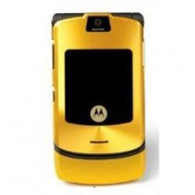 Motorola V3 RAZR No Contract Cell Phone GSM Un-locked (gold)