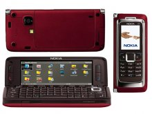 Nokia E90 GSM Un-locked 3G Communicator (RED)
