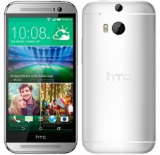 HTC One M8 - 32 GB - Glacial Silver - AT&T - GSM