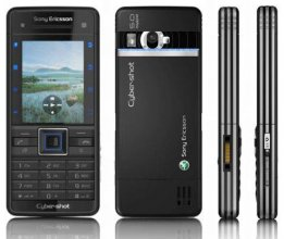 Sony Ericsson C902 Gsm Un-locked (Black)
