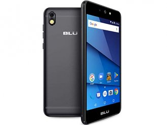 Unlocked Blu - Grand M2 3G with 8GB Memory Cell Phone - Black