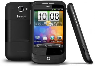HTC A3333 Wildfire (BUZZ) Brown Un-locked Phone