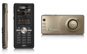 Sony Ericsson R300 GSM Un-locked Radio( Copper/Black)