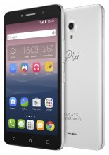 Alcatel Pixi 4 - 16 GB - Silver - Unlocked - GSM
