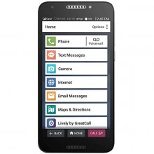 Jitterbug Smart SMART2 - 16 GB - Black - GreatCall - CDMA