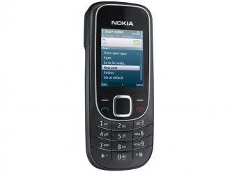Nokia 2320 Classic At&t Cell Phone, Good Condition, Black