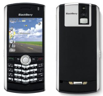 Blackberry 8100 Pearl GSM Quadband QWERTY Phone (Un-locked) Blac