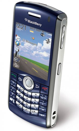 BlackBerry Pearl 8120 WITH WIFI Gsm Un-locked (Blue)