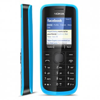 Nokia 109 Unlicked GSM (blue)