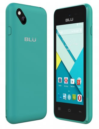 "BLU Advance 4.0m 4GB 3G Blue Unlocked GSM Quad-Core Phone 4.0"" 5"