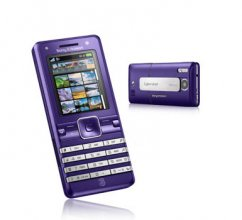 Sony Ericsson K770 Cyber Shot GSM Un-locked UMTS k770i (purple)