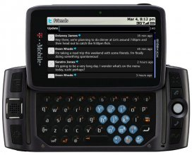 T-Mobile Sidekick Lx Pv300 GSM No Contract Cell Phone with 4GB S