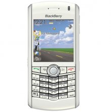 RIM Blackberry Pearl 8110 Gsm Un-locked GPS PHONE (White)