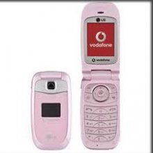LG KP202 Pink Un-locked GSM Flip No Contract Cellphone
