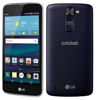 LG Escape 3 - Blue (Cricket Wireless)