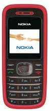 Nokia 1208 GSM Un-locked RED