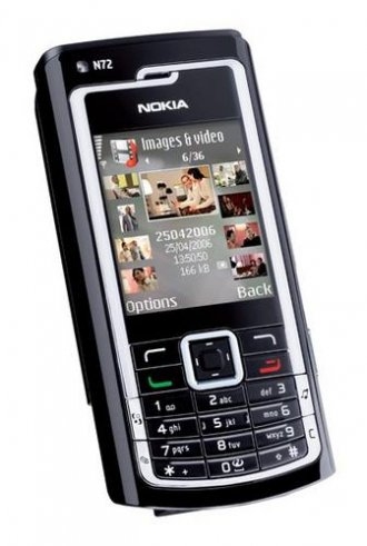 Nokia N72 No Contract Cell Phone GSM Un-locked