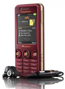 Sony Ericsson W660i GSM Un-locked Phone (Red)
