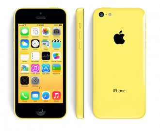 Apple iPhone 5c (GSM Un-locked) - Yellow 32 GB