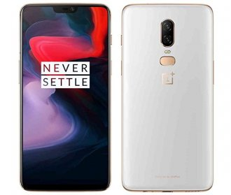 OnePlus 6 - 128 GB - Silk White - Unlocked - CDMA/GSM