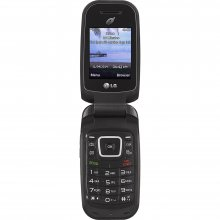 LG 441G Cellular Phone - 256 MB - Black - TracFone - GSM