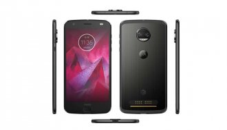 Motorola - Moto Z2 Force Edition 64GB - Super Black (AT&T) with