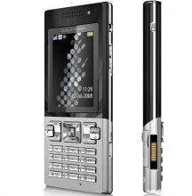 Sony Ericsson T700 3G Smartphone GSM Un-locked (SILVER)