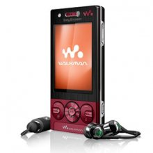 Sony Ericsson W705 GSM Un-locked (RED)