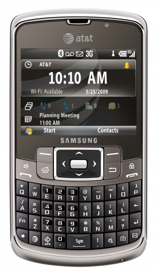 Samsung Jack i637 Gsm No Contract Cell Phone Un-locked WINDOWS 6