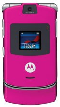 Motorola V3 RAZR No Contract Cell Phone GSM Un-locked (pink)