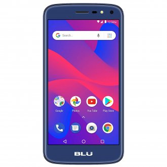 Blu C5 2018 C014U 8GB Unlocked GSM Dual-SIM Phone - Blue
