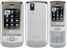 LG GD710 Shine II 2 Quad Band 3G No Contract Cell Phone