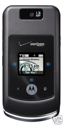 Motorola MOTO W755 in Black Slate (Verizon Wireless)