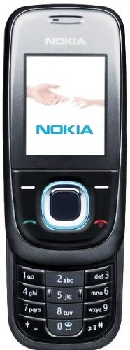Nokia 2680 Slide No Contract Cellular phone - GSM - Night blue