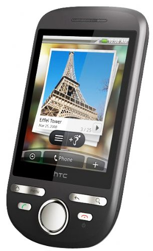 HTC Tattoo A3288 Graphite Android Un-locked PDA Phone - Click Image to Close