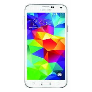 Samsung Galaxy S5 Android Phone 16 GB - Shimmery White - Verizon
