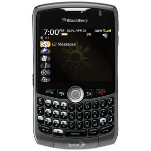 BlackBerry Curve 8330 BlackBerry smartphone - Sprint Nextel - CD