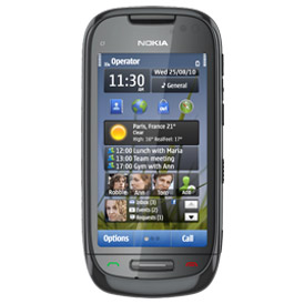 Nokia C7 8MP Touch Screen Un-locked GSM (BLACK) C7-00
