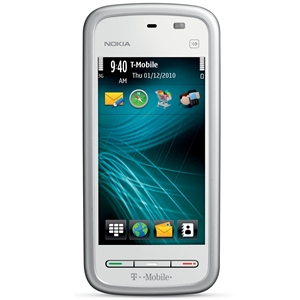 Nokia 5230 Smart Phone - White - T-Mobile - GSM