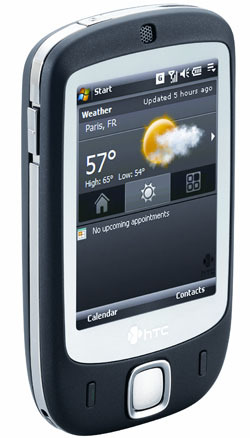 HTC - Touch Dual No Contract Cell Phone GSM Un-locked - Black