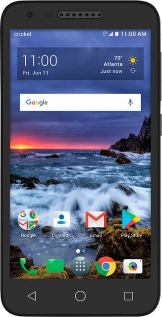 Alcatel Verso - 16 GB - Black - Cricket Wireless - GSM