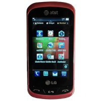 LG Xpression 65370 (GSM Unlocked) - Red