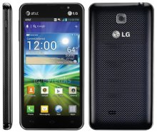 LG Escape P870 (GSM Unlocked) - Black