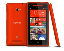 HTC Windows Phone 8X 4G LTE 8GB (GSM Unlocked )- Red