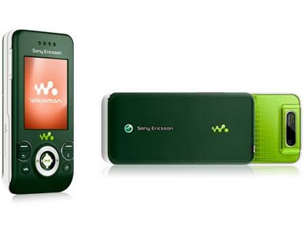 sony ericsson w580i. sony ericsson w580i walkman gsm un-locked (green) (